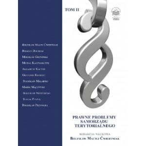 Prawne problemy samorządu terytorialnego Tom II