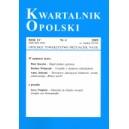 Kwartalnik Opolski 2009 R. LV nr 4