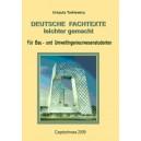 Deutsche Fachtexte leichter gemach Für Bau - und Umweltingenieurwesenstudenten - Urszula Tarkiewicz