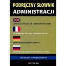 Podręczny słownik administracji - polski, angielski, francuski, niemiecki, rosyjski